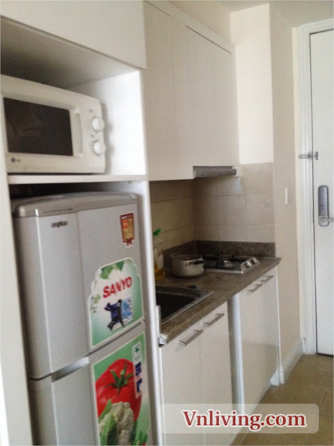 The Manor apartment for rent 1 bedroom furnished in Binh Thanh Dist