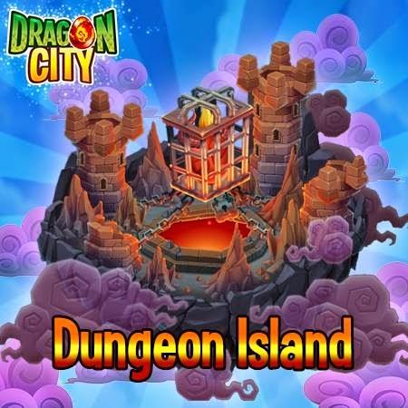 imagen del resultado de la isla mazmorra de dragon city ios y android