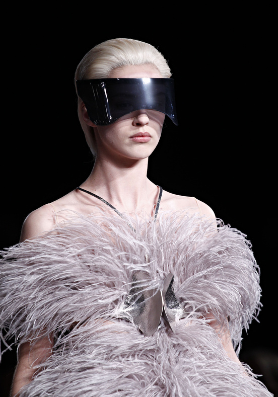 Close-Up: Alexander McQueen Visors & Other Accessories ...