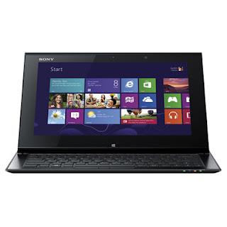 Harga dan Spesifikasi Sony VAIO Duo SVD11225CXB Laptop / Tablet PC dengan Intel Core i7-3537U