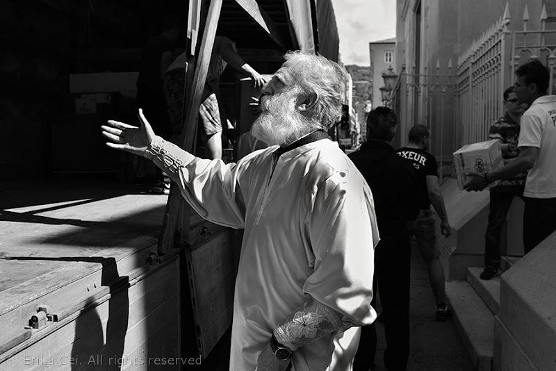 Il Pope della comunità serbo-ortodossa di Trieste