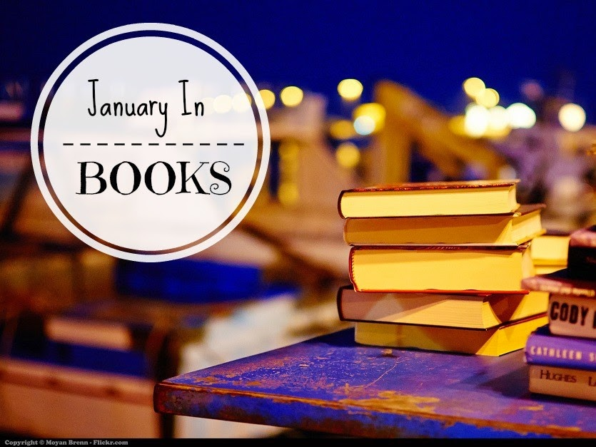 January 2015 in Books