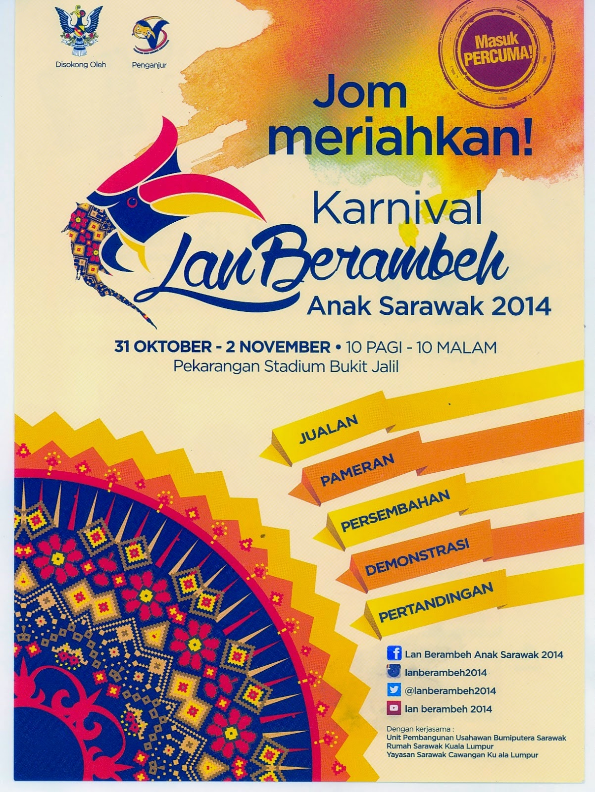 Karnival Lan Berambeh Anak Sarawak 2014
