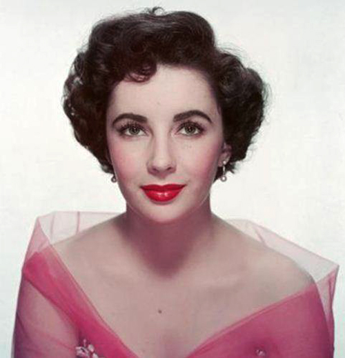 The Hair Style File Elizabeth Taylor Sets 1950s Trends In