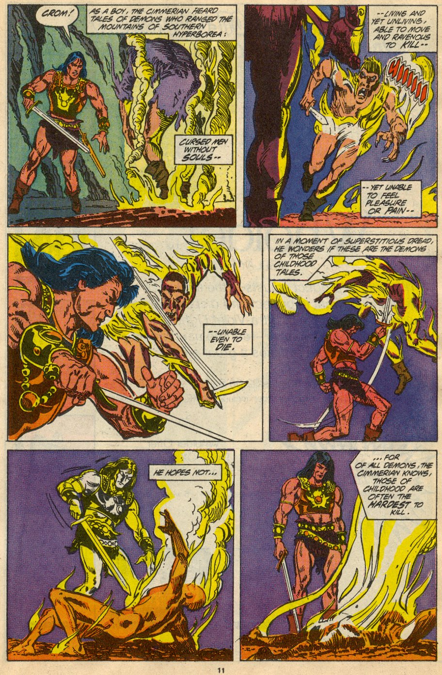 Conan the Barbarian (1970) Issue #230 #242 - English 9