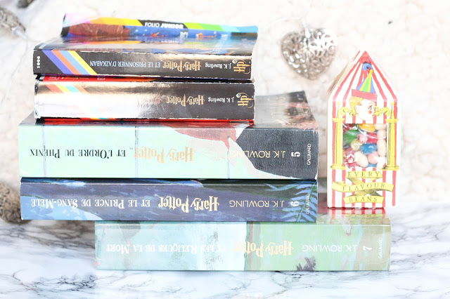 Livres d'Harry Potter