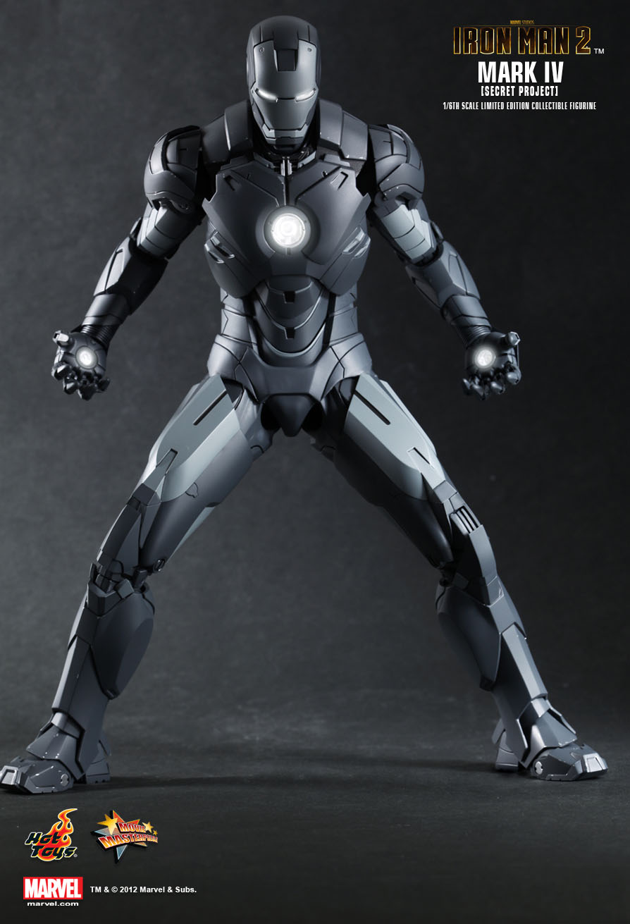 JUST Custom Toy: Hot Toys : Iron Man 2 MARK IV (Secret ...