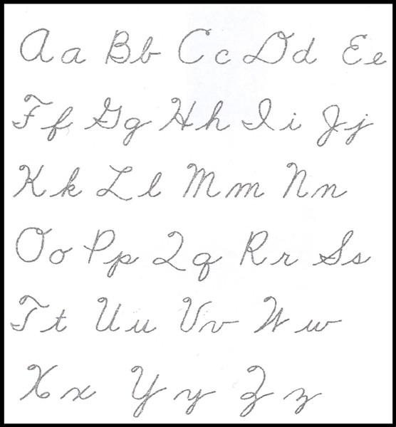 how do you write a cursive z