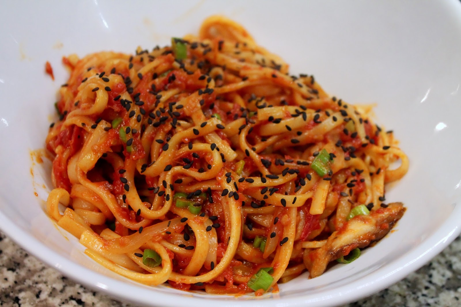 Cook In / Dine Out: Roasted Tomato Yaki Udon