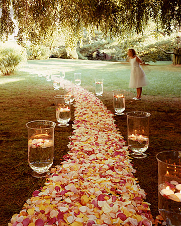 fall wedding decoration