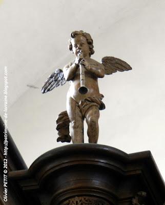 VEZELISE (54) - L'église Saint-Côme et  Saint-Damien (Intérieur) - Orgue