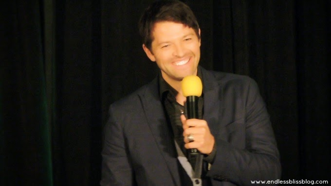 misha collins at supernatural con in houston 2015