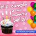 FRASES Y MENSAJES  de  feliz cumpleaños a mi Mamá