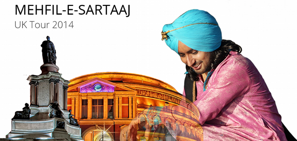 Satinder Sartaj Live - UK Tour 2014