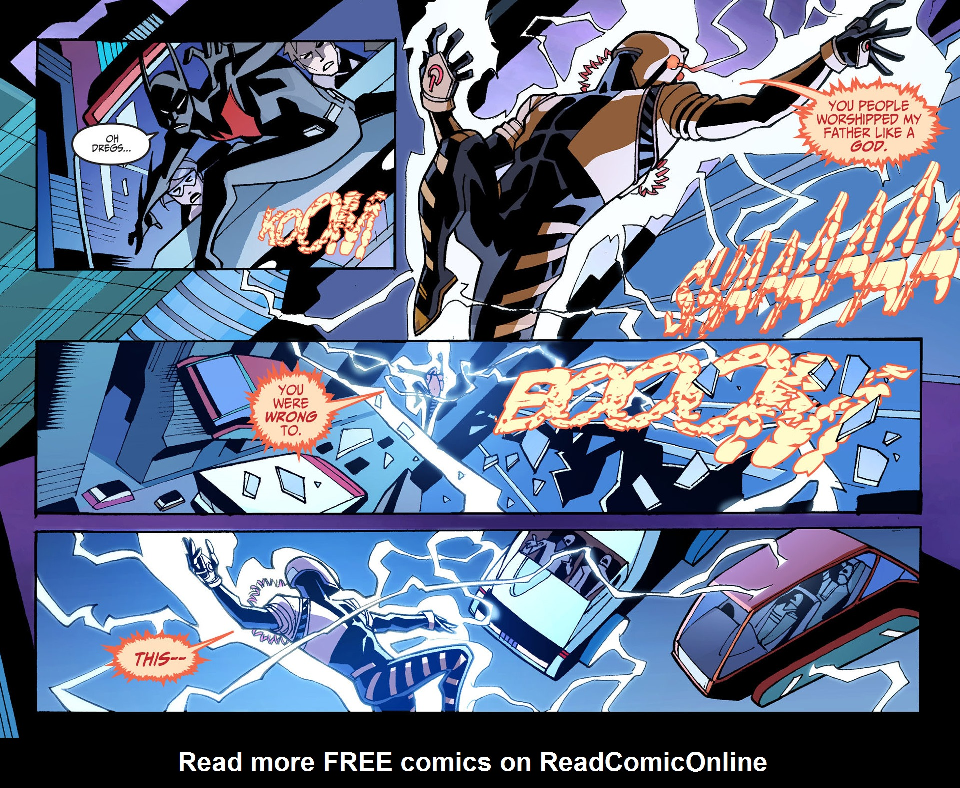 Batman Beyond 2.0 Issue #7 #7 - English 21