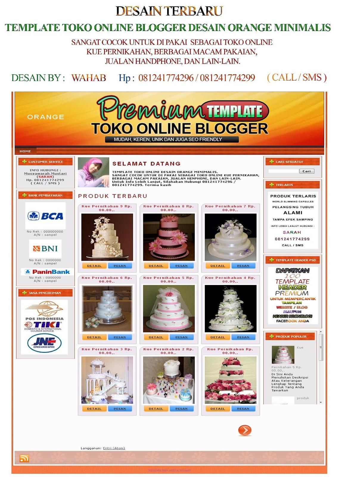 Toko Online Blogger