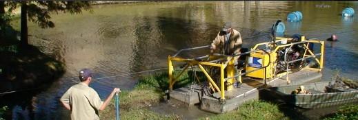 pond dredging