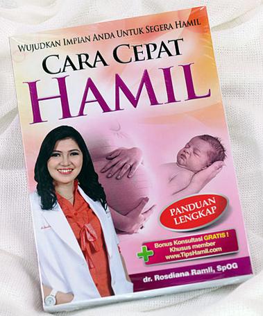 Buku Panduan Cara Cepat Hamil yang Lengkap dari Dr. Rosdiana Ramli,Sp.OG