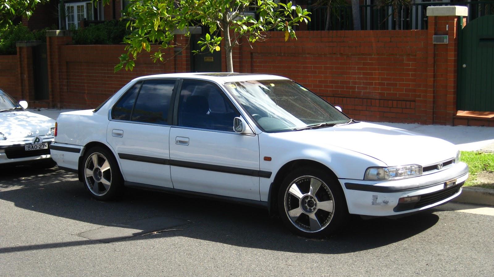 aussie old parked cars 1991 honda accord exi sedan