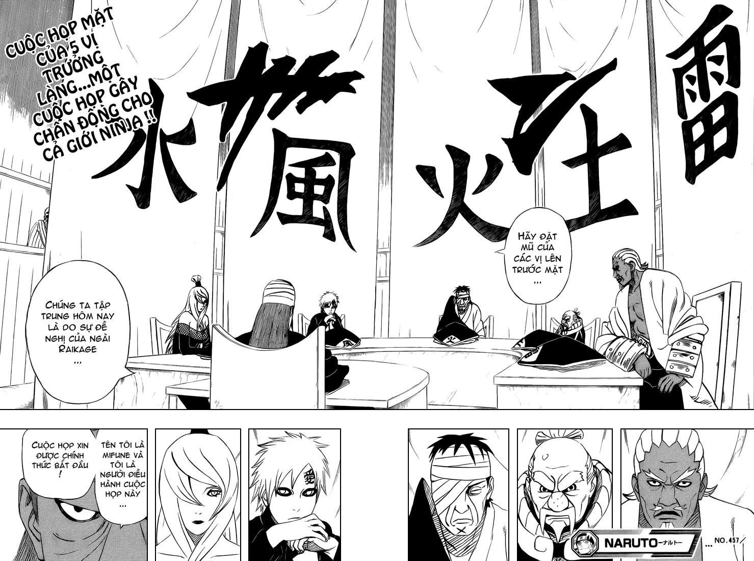 Naruto chap 457 Trang 19 - Mangak.info