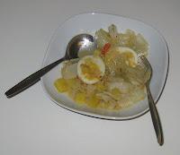 Weißkohl-Gemüse-Curry mit Eiern