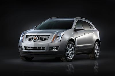 2014 Cadillac SRX silver