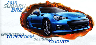 Brz Designed to Ignite