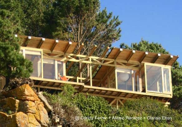 Arquitectura de casas casa buchupureo moderna caba a de - Arquitectura en madera ...