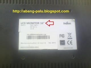 mengetahui ukuran monitor komputer