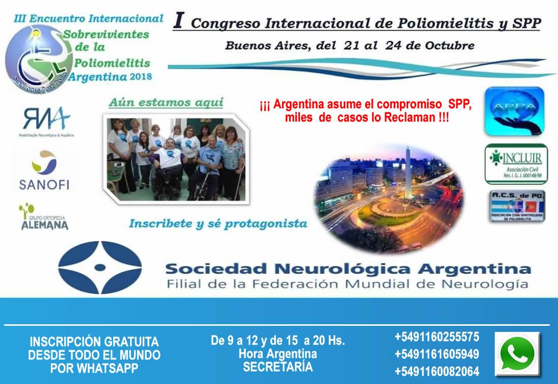 I Congreso Internacional de Poliomielitis y SPP