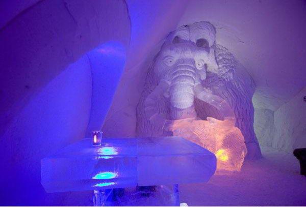 Cartoon Themed Ice Hotel In Finland Funnywebpark