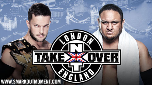 WWE NXT TakeOver London Event Samoa Joe vs Finn Balor