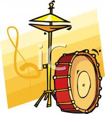 bass drum and hi hat