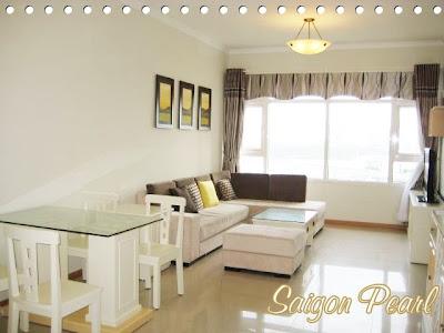Căn hộ Saigon Pearl 2 phòng ngủ cho thuê