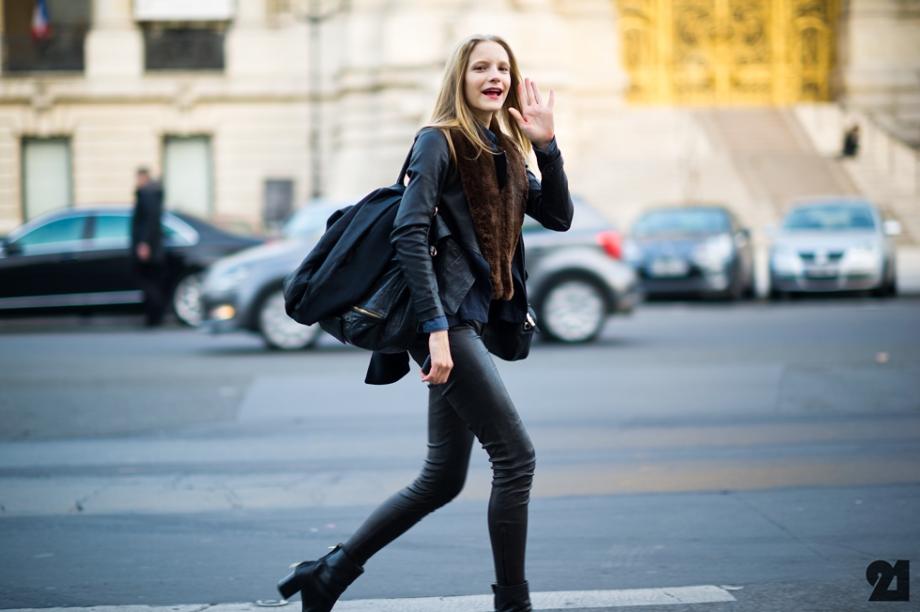 El Street Style A Juicio Invierno 2013 L 39 Etoile Gris