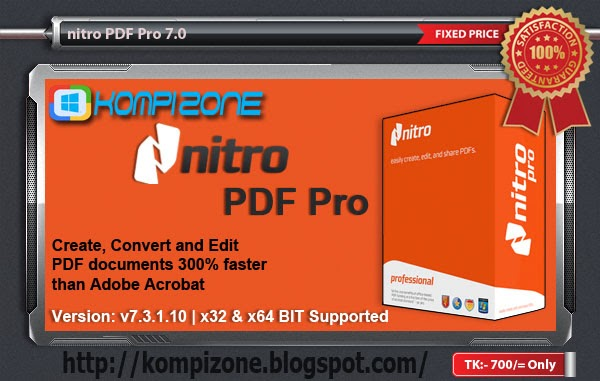 Nitro Pro 12 Crack with Serial Key Full Version Free Download