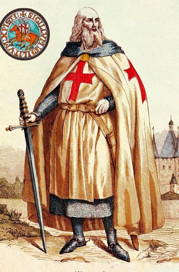 L'ultimo Gran Maestro dell' Ordine dei Cavalieri Templari