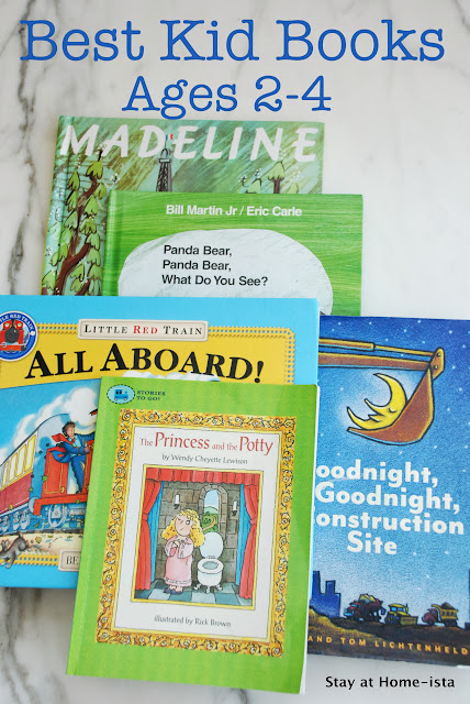 Best books for kids ages 2 to 4