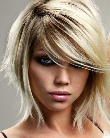 ahora veamos fotos de efecto balayage en el cabello, recuerda que es la misma técnica en diferentes formulas de color y largos de cabello.