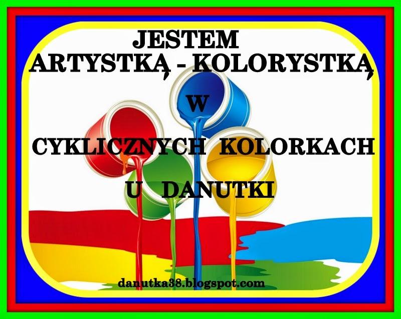 Brałam udział: Cykliczne Kolorki u Danutki