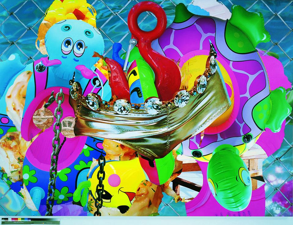 Jeff Koons, The Hook, 2003