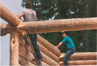 Log homes, logs, ely, mn, whiteside park. Huisman