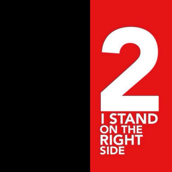 Template dasar untuk ava Stand On The Right Side . (Foto: @monstreza)