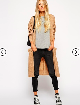 ASOS Longline knit in the sale. top fashion picks