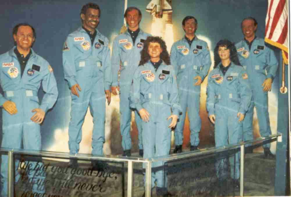 space shuttle challenger crew - photo #25