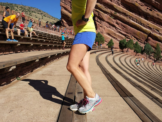 Red Rocks Workout - Step Up
