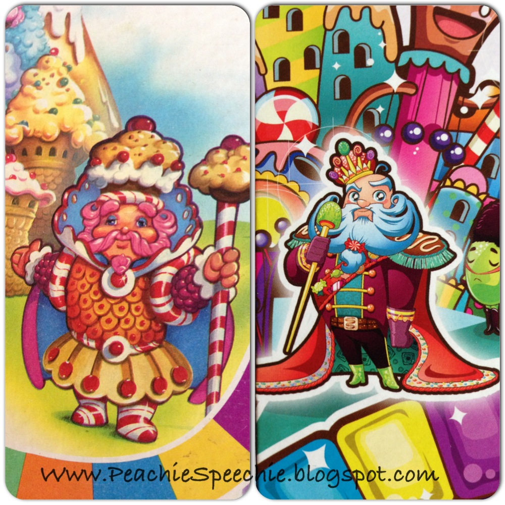 Candyland King Candy Other notable changes ...