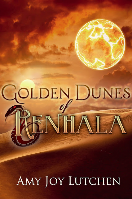 Cover Reveal and Review: Golden Dunes of Renhala (Renhala #2) by Amy Joy Lutchen