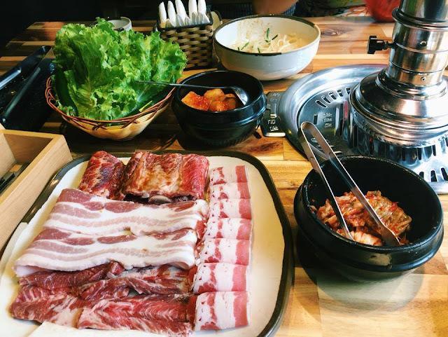 Nhà hàng thịt nướng Gogi house Hàn Quốc