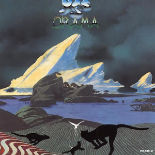 Yes - Drama album cover